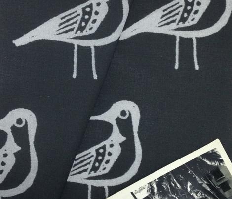 Doodle Bird - Slate
