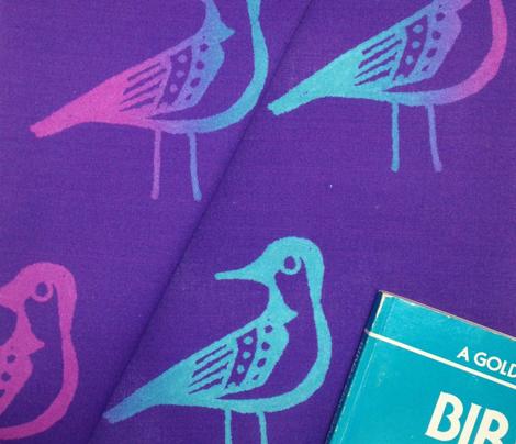 Doodle Bird - Purple