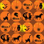 polka-dotted halloween