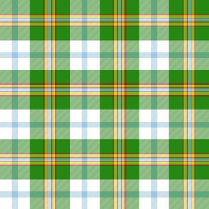 "Cooper / Couper dress dance tartan, 6"" bright"