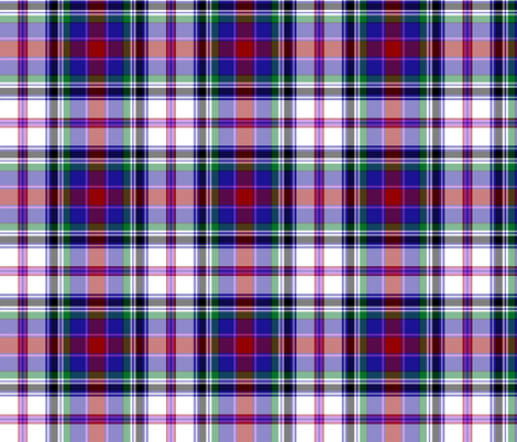 "Cooper / Couper dress tartan, 6"" fabric by weavingmajor on Spoonflower - custom fabric"