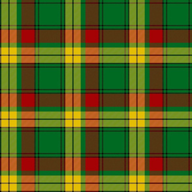 "MacMillan old tartan, 6"" modern colors"