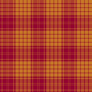 "MacMillan dress tartan, 6"" muted colors"