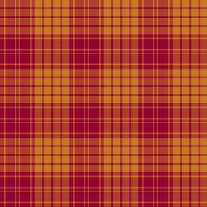 "MacMillan dress tartan, 6"" muted colors"