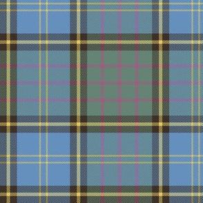 "MacMillan hunting tartan, 6"" faded"