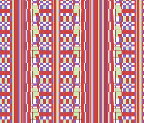 memphis sound fabric by saschadahlia on Spoonflower - custom fabric