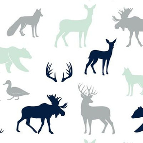 woodland animals - the northern lights collection