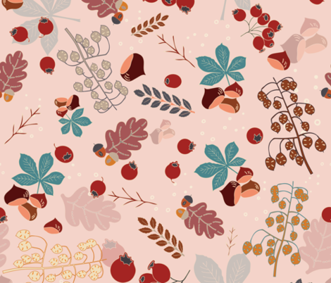 Forest Walk fabric by another_village on Spoonflower - custom fabric