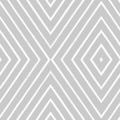 Mod Diamond Stripe gray