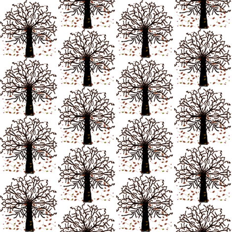 Rustic Fall Comp fabric by flutterbi on Spoonflower - custom fabric