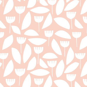 Scandi florals in pink