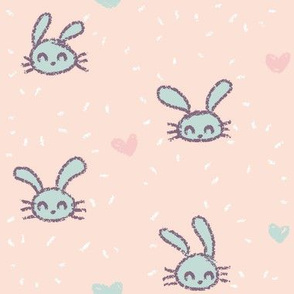 Little Rabbits Pink