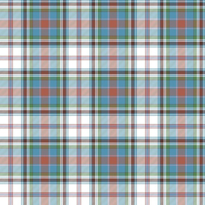 "Cooper / Couper dress tartan, 6"" ancient colors"