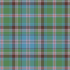 "Cooper / Couper tartan, 6"" ancient colors"