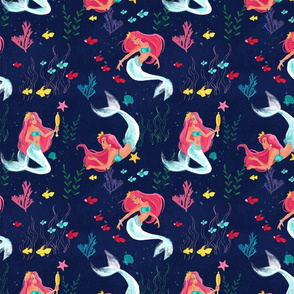 mermaids_spoonflower