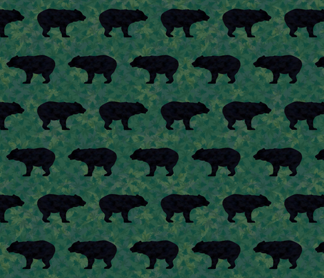 Bears Bears Bears fabric by bags29 on Spoonflower - custom fabric