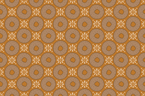 Apple Cider Donuts fabric by littleskeinanne on Spoonflower - custom fabric