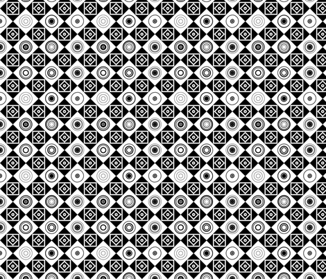 Memphis_Style_001 fabric by stradling_designs on Spoonflower - custom fabric