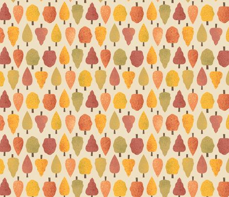 autumnforest fabric by novaliestudio on Spoonflower - custom fabric