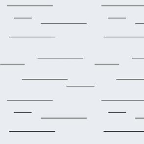 simple offset stripes black grey