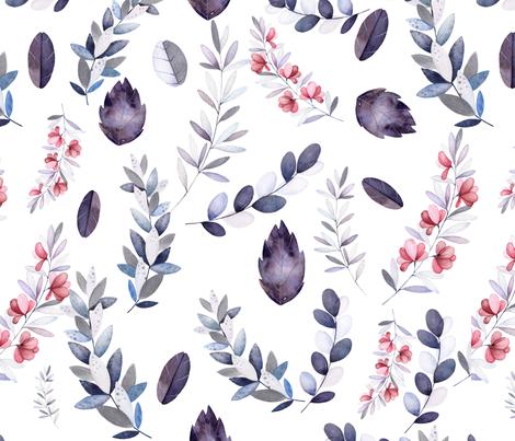 leaf-pattern-1 fabric by hudsondesigncompany on Spoonflower - custom fabric