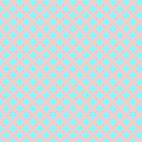 Blush and Blues fabric by coveredbydesign on Spoonflower - custom fabric