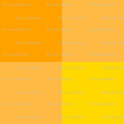 Halloween orange and yellow