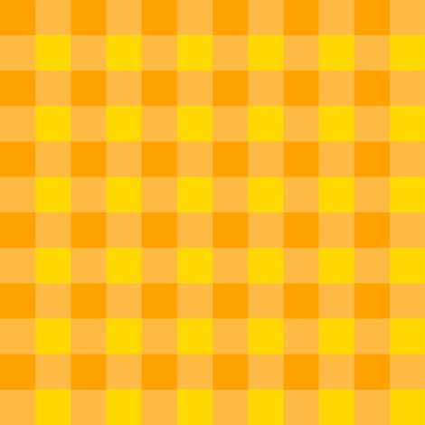 Halloween orange and yellow  fabric by stitch_crazy on Spoonflower - custom fabric