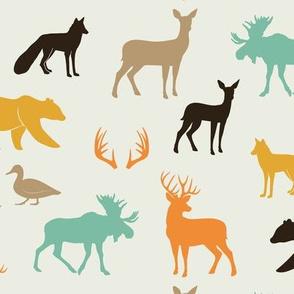 woodland animals in rye