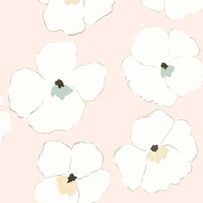 Warhol Garden - baby pink -