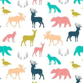 (small scale) woodland animals - Emmy