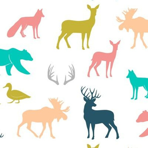 woodland animals - Emmy