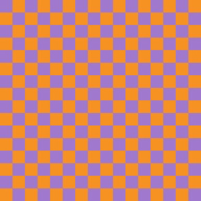 Checkerboard Orange-Purple