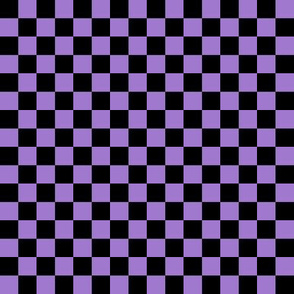 Checkerboard Black-Purple