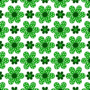 dot flower_green