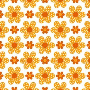 dot flower_orange