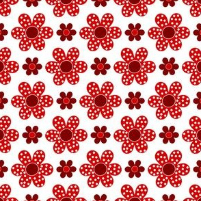dot flower_red