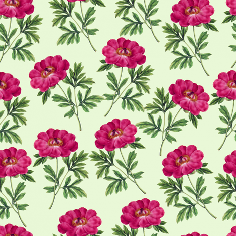 Purple Blooms fabric by thinlinetextiles on Spoonflower - custom fabric