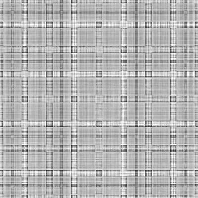 Plaid Check Tartan Grid Stripes Grunge Pencil Scratch Grey