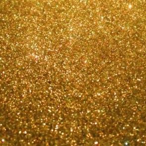 Gold Glitter Faux Texture