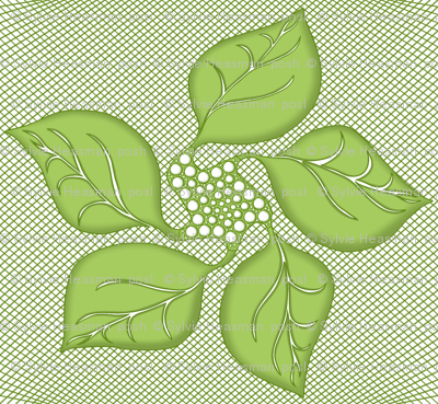 Quilted_Leaves on Lattice.