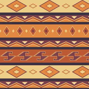 Ethnic print inspired by Africa