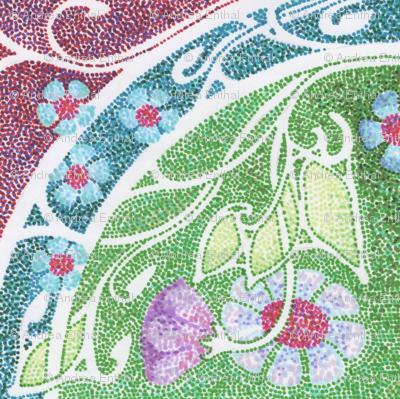 Dotty's Green Mosaic Garden