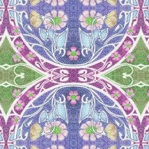 Dotty's Blue Mosaic Garden