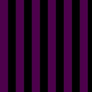 Steampunk - Black and purple stripes