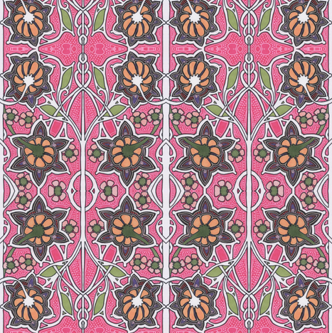 1910 Was a Flowery Year fabric by edsel2084 on Spoonflower - custom fabric