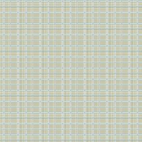 cream-gray plaid
