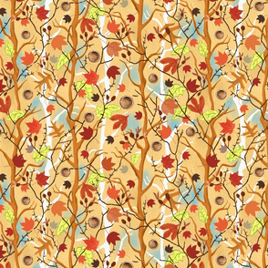 Rustic Fall Chintz