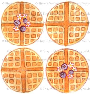 Mod Waffle (Blueberry)