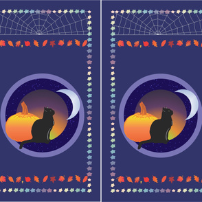 Cat and the Moon - Panels